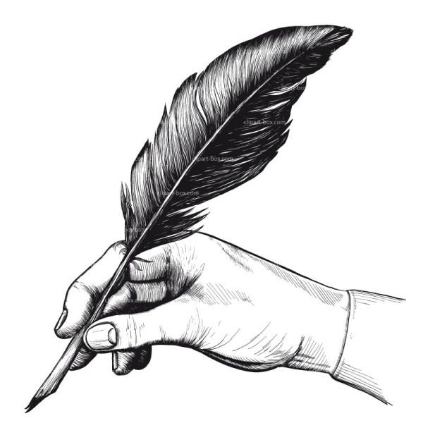 Free Quill Pen Cliparts Clip Art