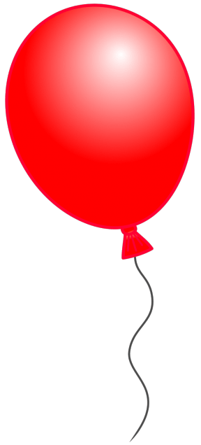 red balloon cliparts free