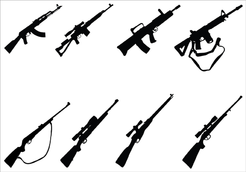 Free Rifle Silhouette Cliparts, Download Free Clip Art