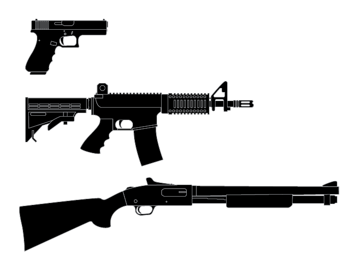 Free Rifle Silhouette Cliparts Download Free Clip Art