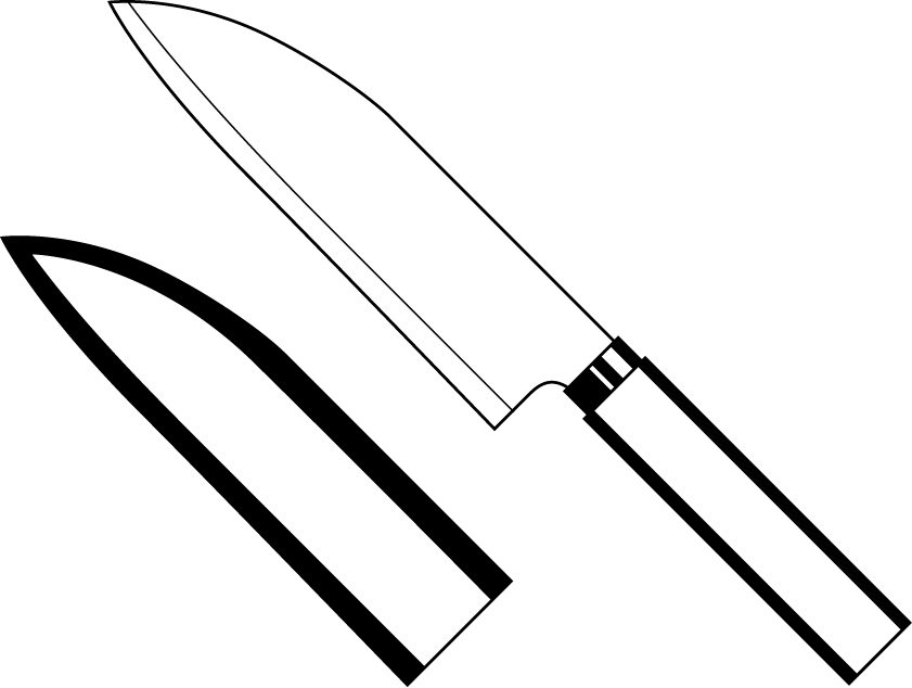 Kitchen Knife Clipart