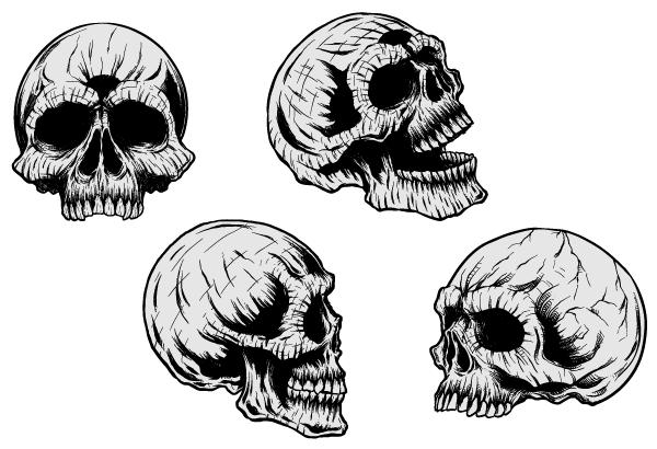 Crossbones Black Skull Clip Art And