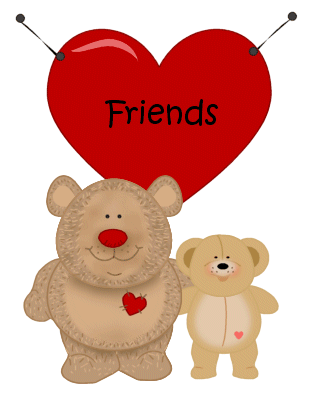 free bff heart cliparts