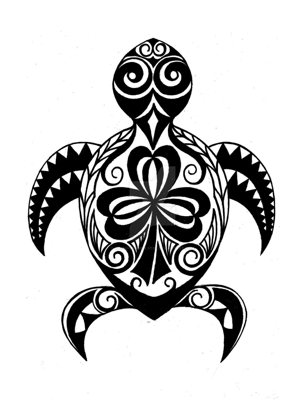 Free Tribal Turtle Cliparts Download Free Clip Art Free