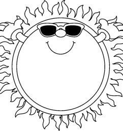 sunshine and clouds clipart black [ 1013 x 967 Pixel ]