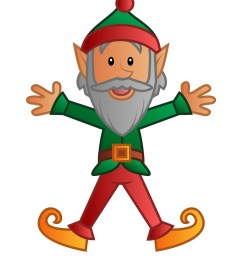 digital elf clipart christmas [ 927 x 1200 Pixel ]