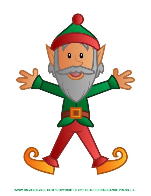 small resolution of digital elf clipart christmas
