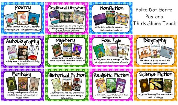 free story genre cliparts