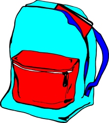bag clipart clip backpack transparent cliparts bags illustration bookbag background purse library books backpacks clipartpanda supplies