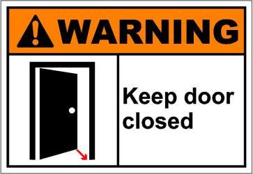 close the door shut Clip Art Library
