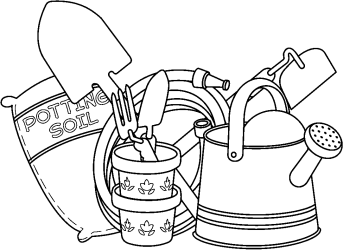 Free Black And White Garden Clipart Download Free Clip Art Free Clip Art on Clipart Library
