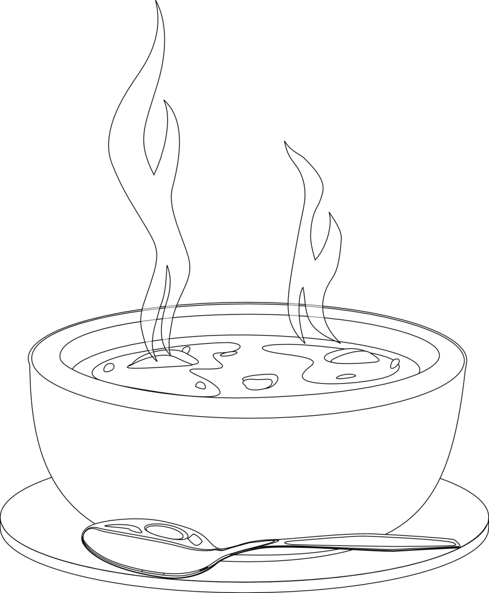 medium resolution of soup hot