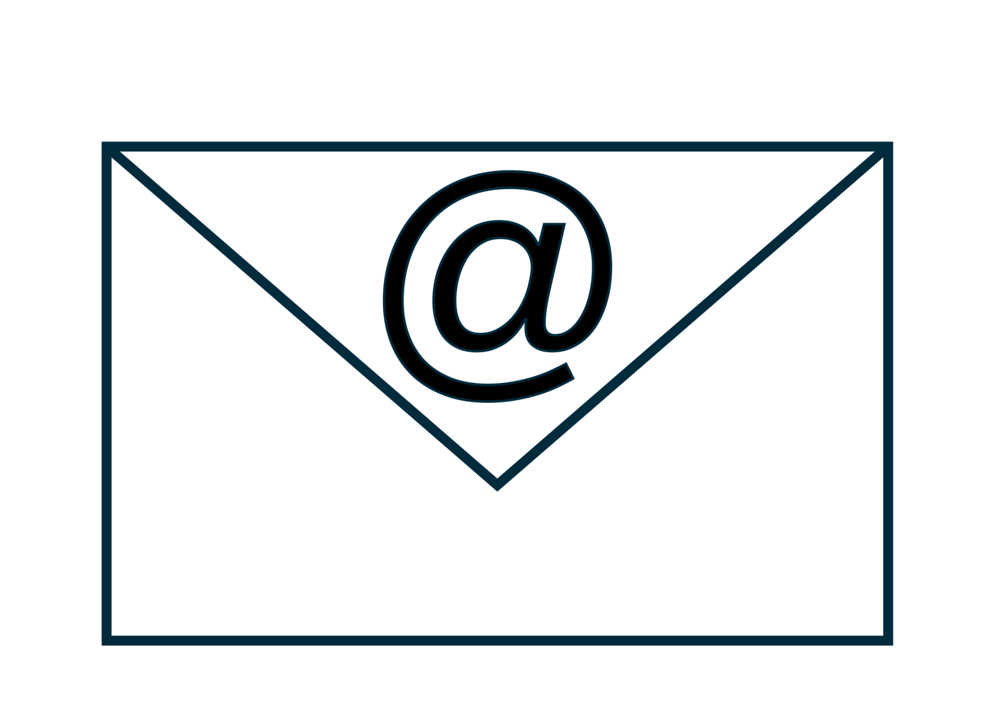 hight resolution of email clip art free