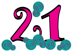 free number 21 cliparts