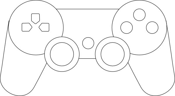 Ps3 Controller Outline