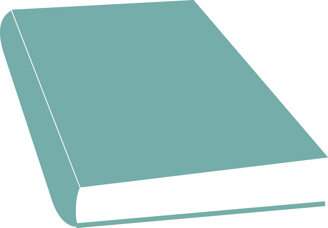 hight resolution of closed book clipart