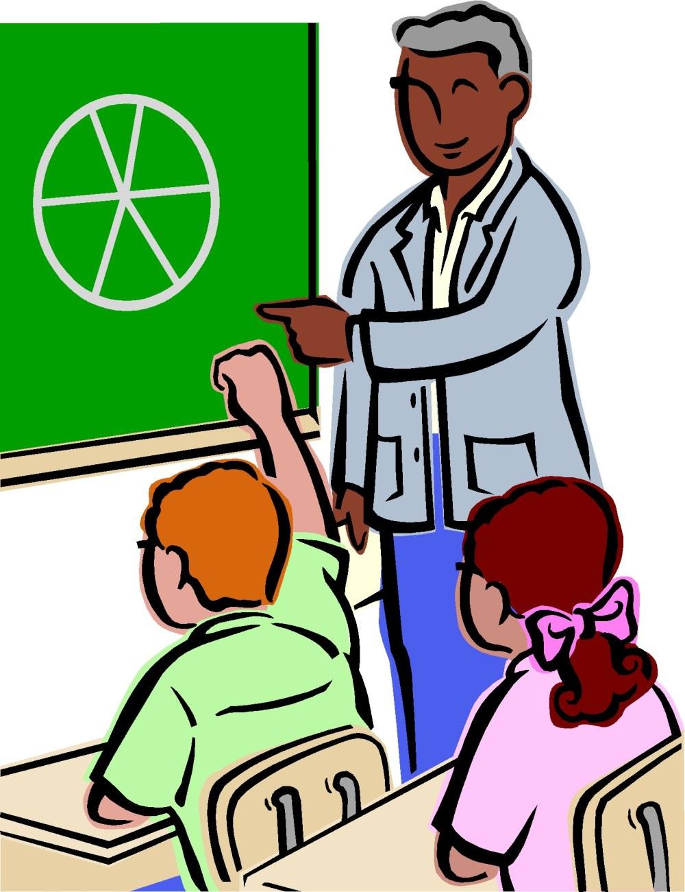medium resolution of teacher helping student clipart