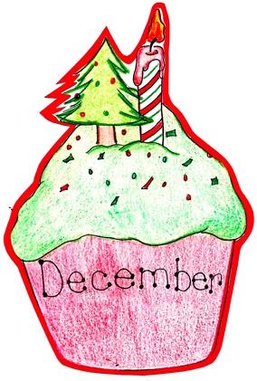 free december birthday cliparts