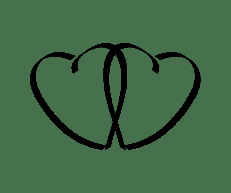 Free Interlocking Heart Cliparts, Download Free Clip Art