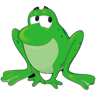 free big frogs cliparts