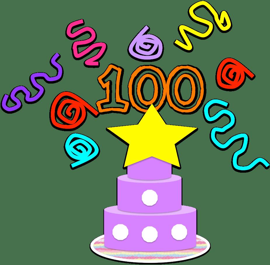 medium resolution of free 100th day clipart school