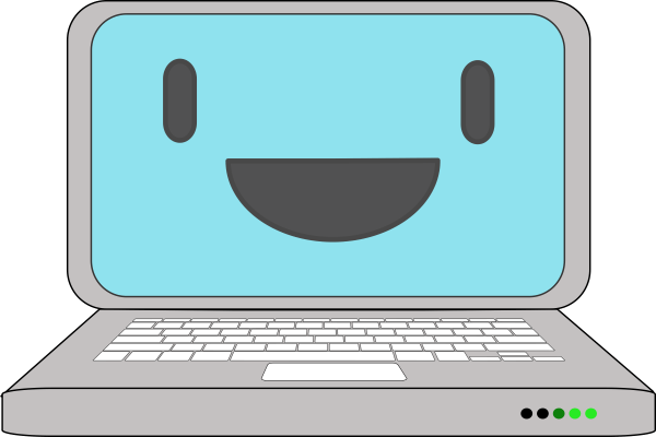 Free Smile Computer Cliparts Clip Art Clipart Library