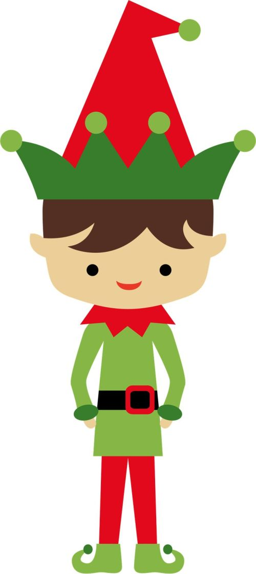 small resolution of elf clipart