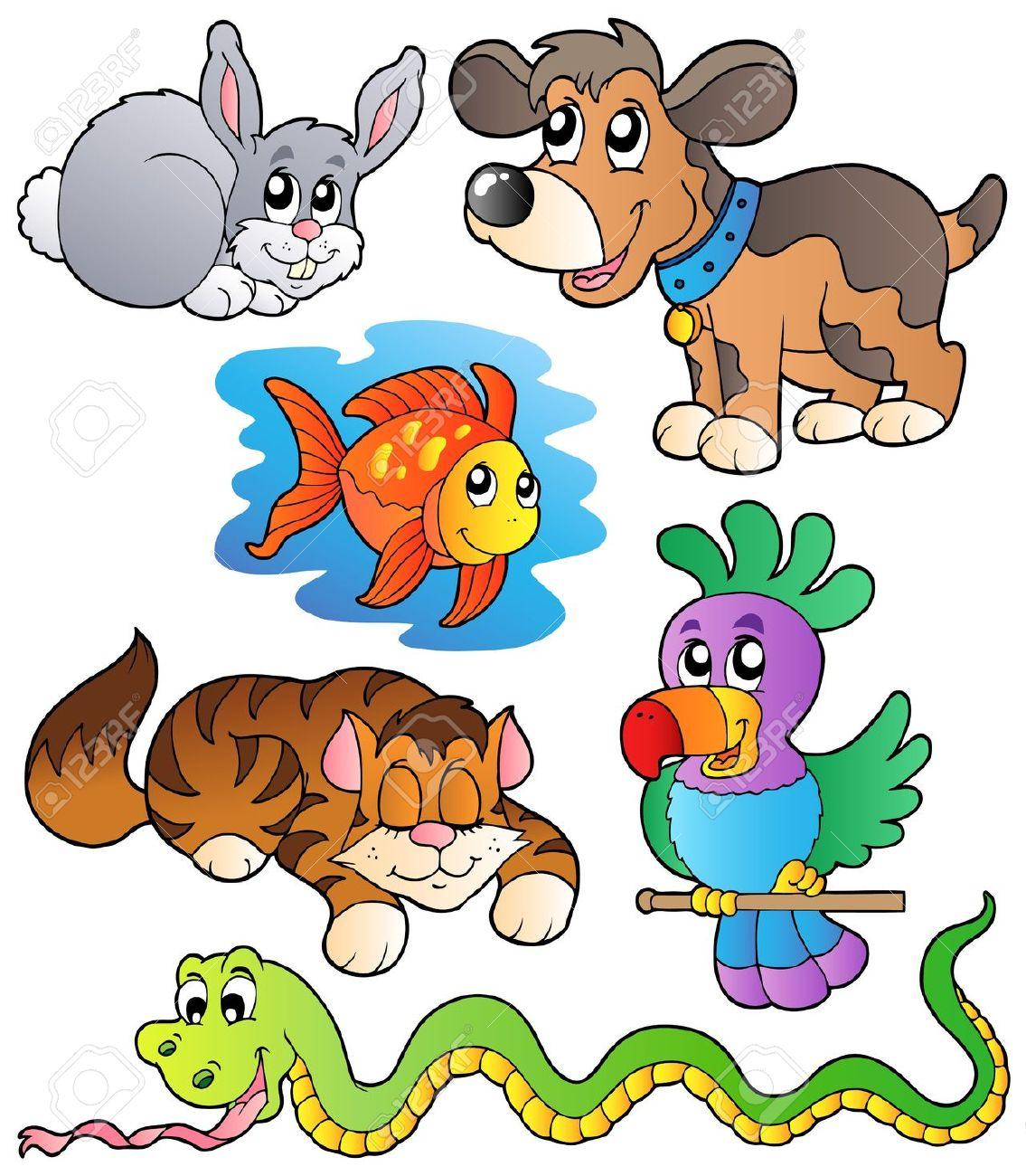 free pets cartoon cliparts