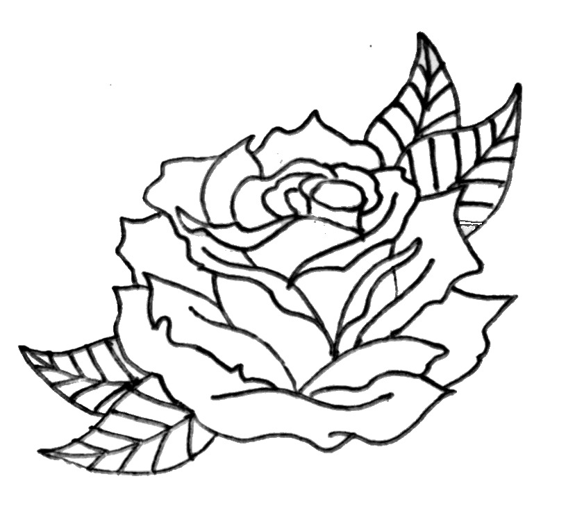 Free Traditional Rose Cliparts, Download Free Clip Art