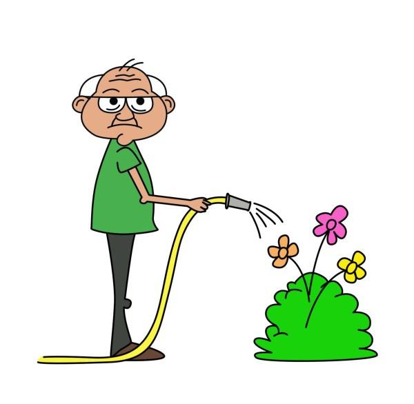 Free Cartoon Grandfather Cliparts Clip Art
