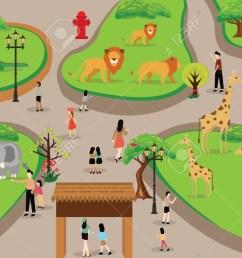 jungle scene cliparts 2857500 license personal use  [ 1300 x 780 Pixel ]