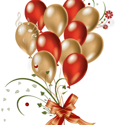 red party balloon clip art  [ 2400 x 3391 Pixel ]