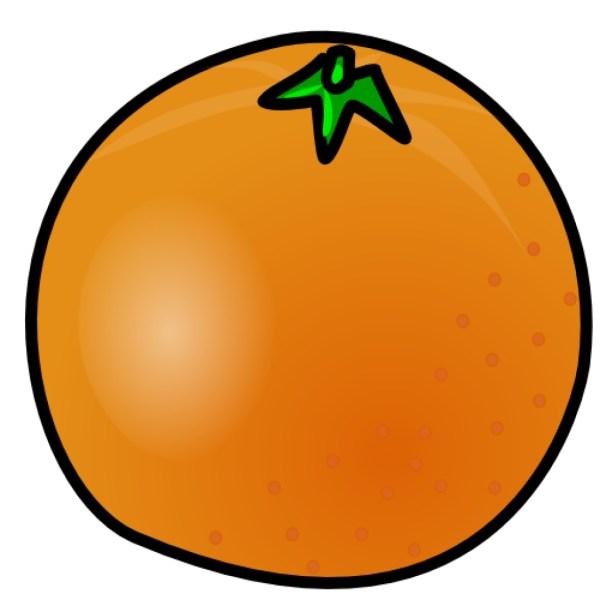 free fruit orange cliparts