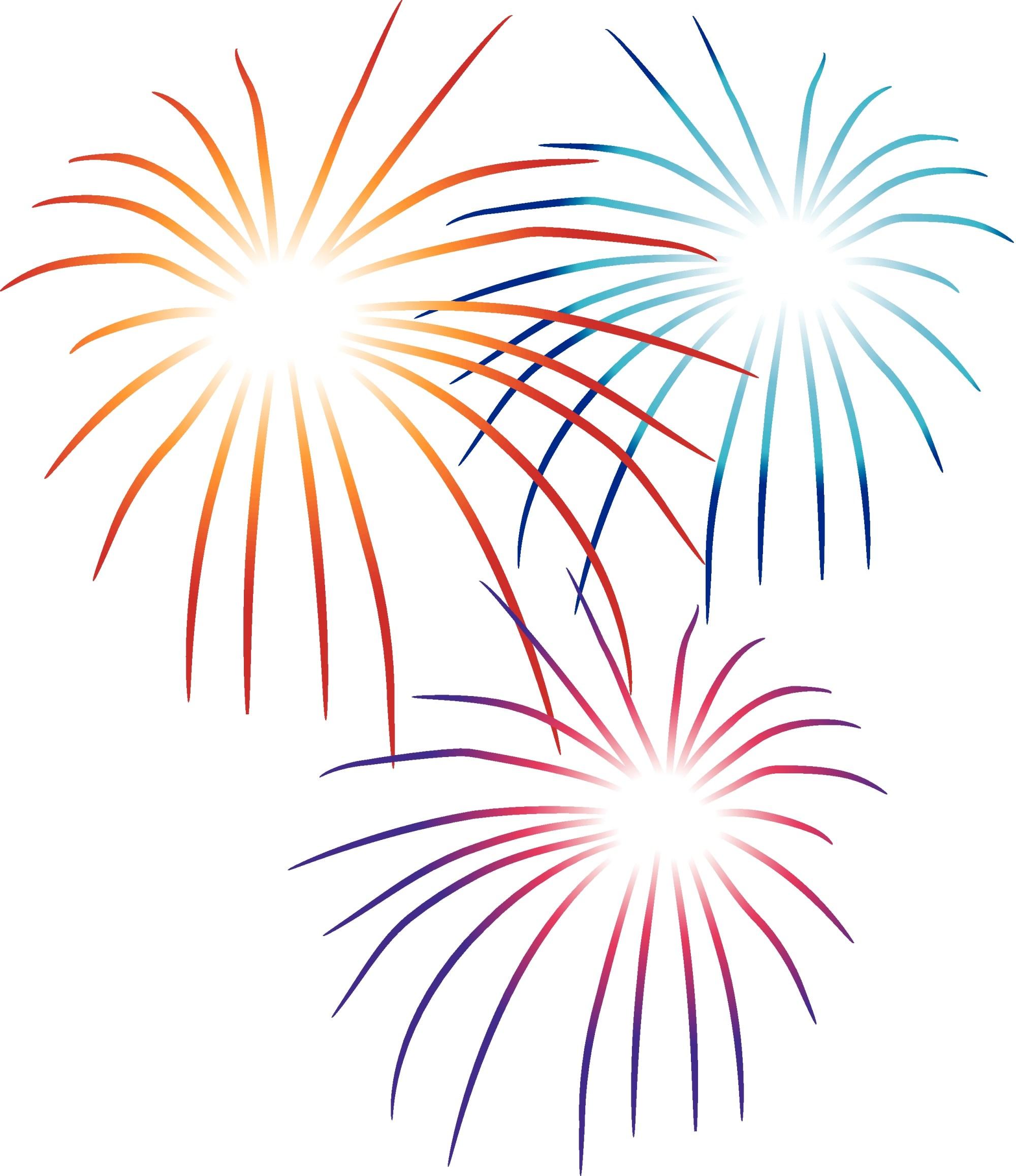 hight resolution of clip art fireworks
