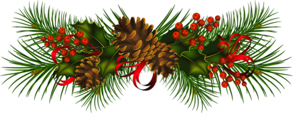 transparent christmas border