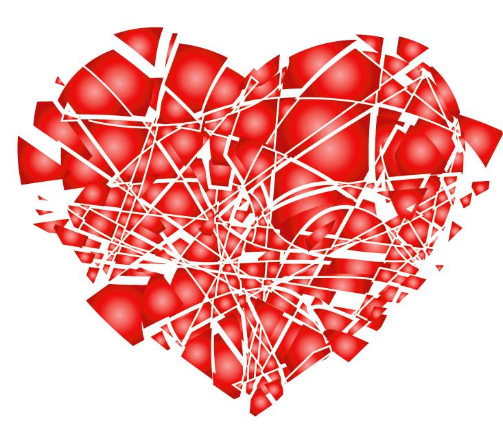 Shattered Heart Gif