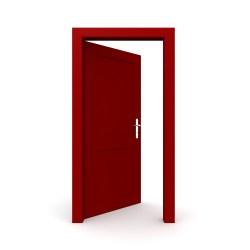 Open Door Clipart