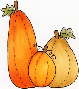 free gold pumpkin cliparts