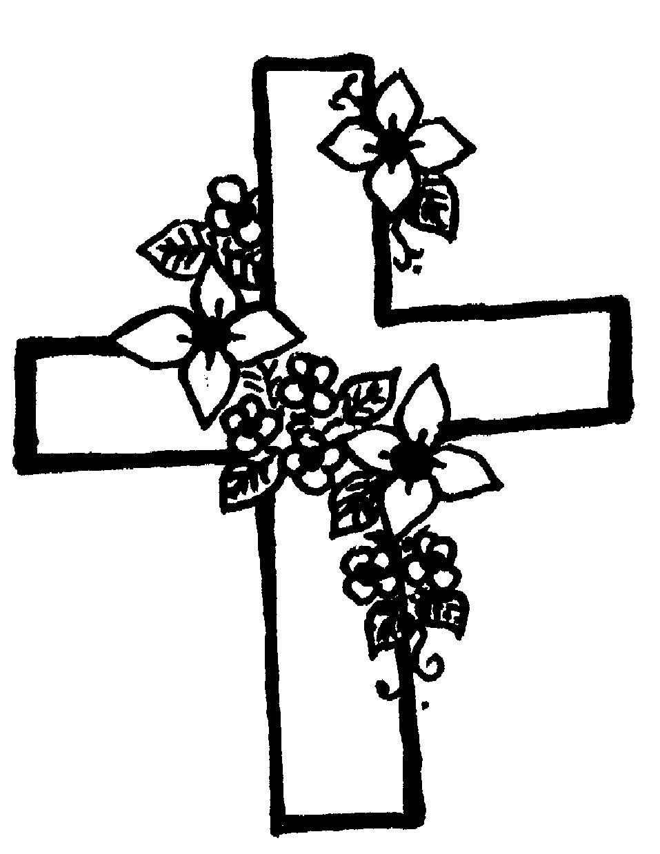 Free Cross Flowers Cliparts, Download Free Cross Flowers