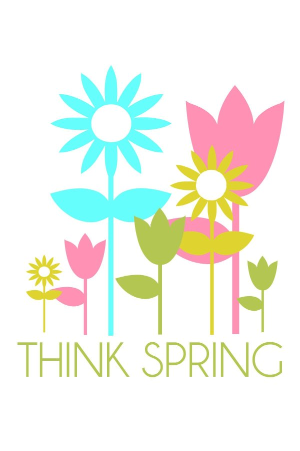 Think Spring Clip Art Free