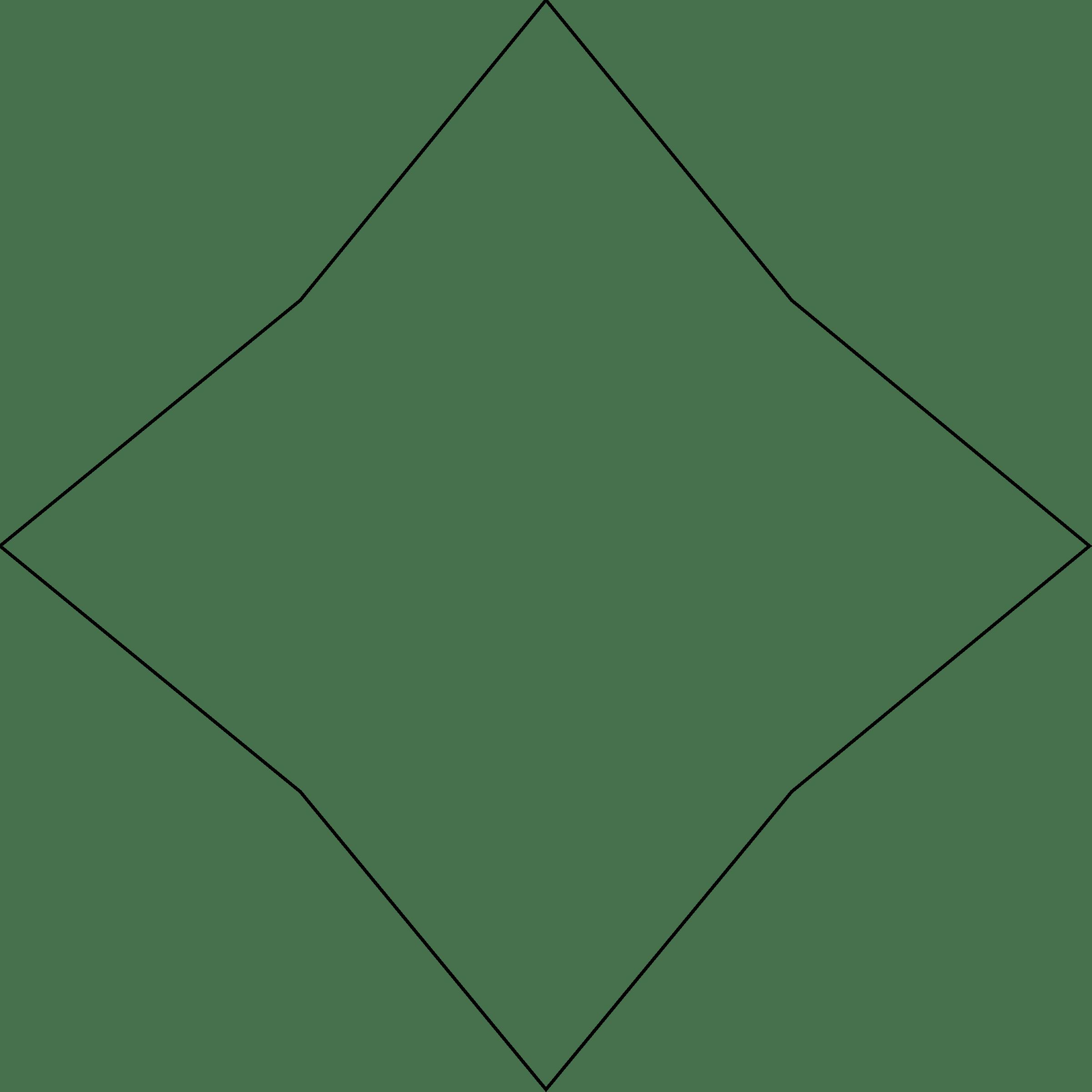 Diamond Shape Clipart Star