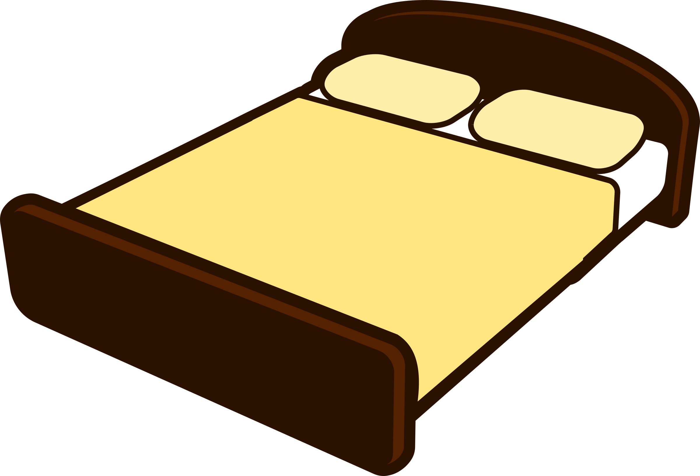 Image result for bed clipart