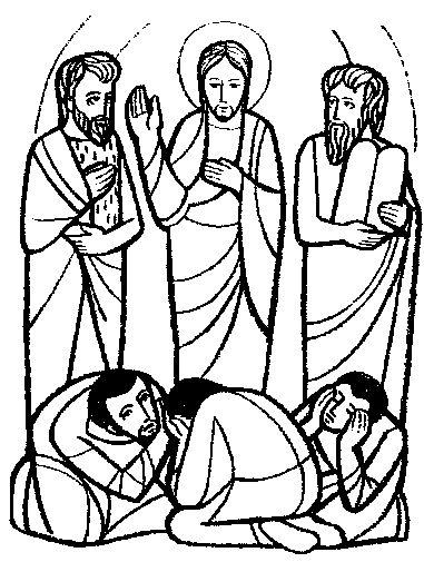 Transfiguration clip art