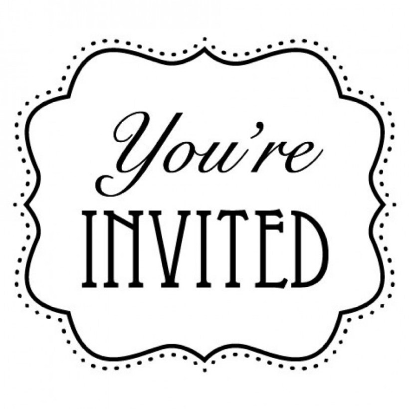 You Re Invited Clipart Clip