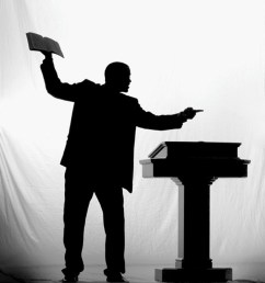 clipart preacher preaching [ 890 x 1346 Pixel ]