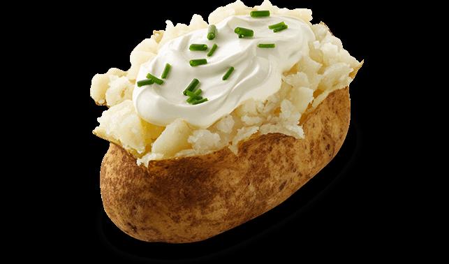 Baked Potato Clipart