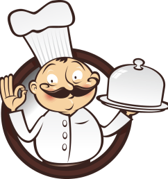 food chef cooking clipart [ 900 x 902 Pixel ]