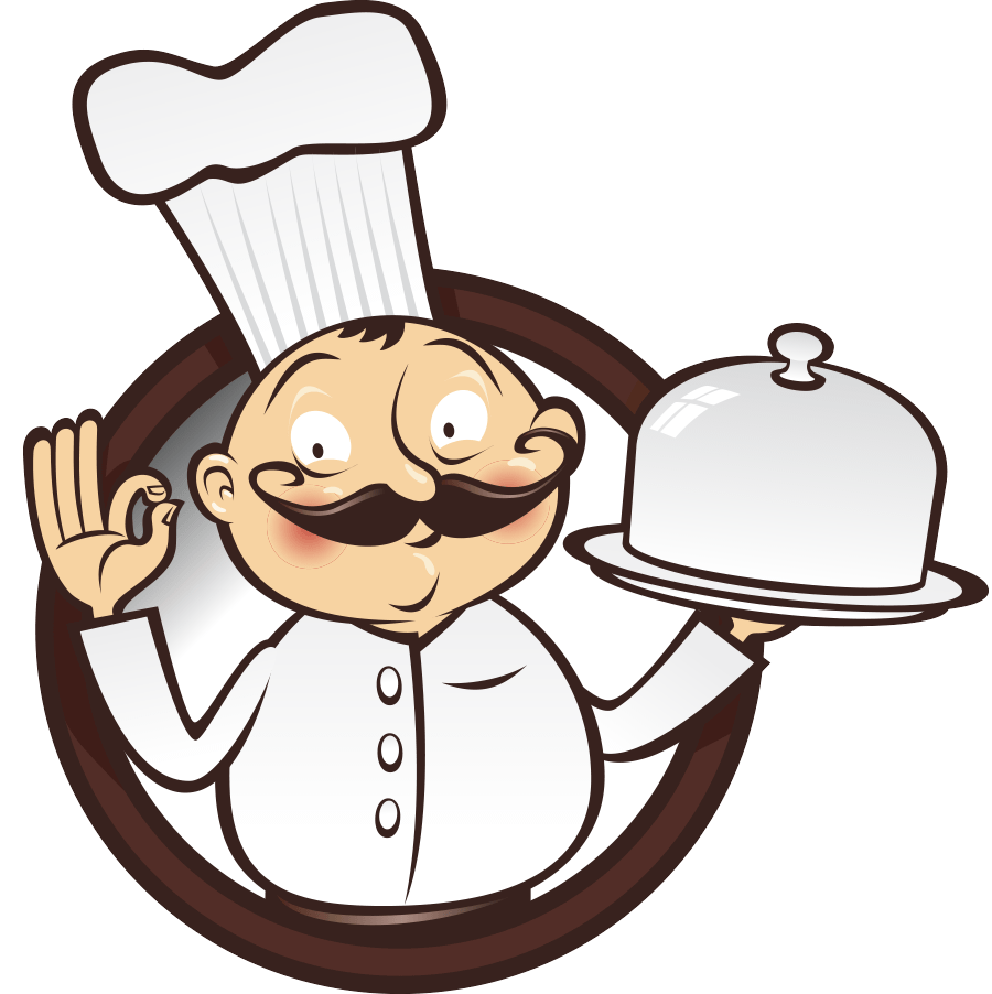 hight resolution of food chef cooking clipart