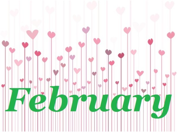 months february - clip art library