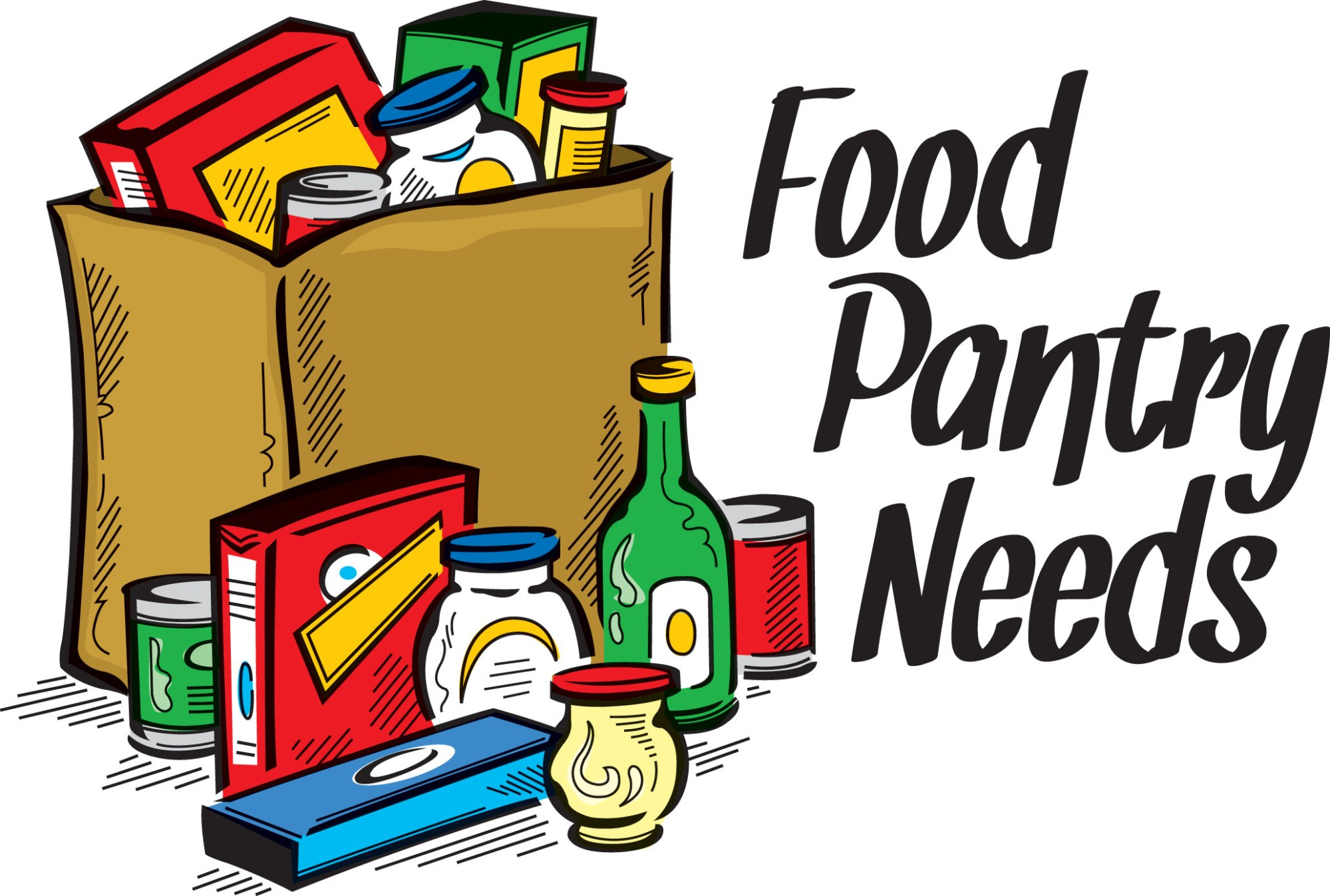 hight resolution of food pantry clipart